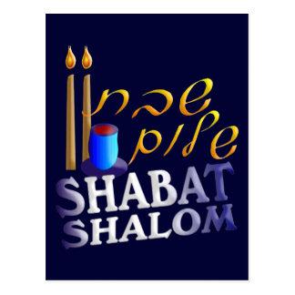 Shabat Shalom Postal