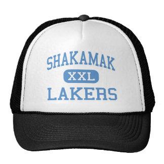 Shakamak - Lakers - altos - Jasonville Indiana Gorra