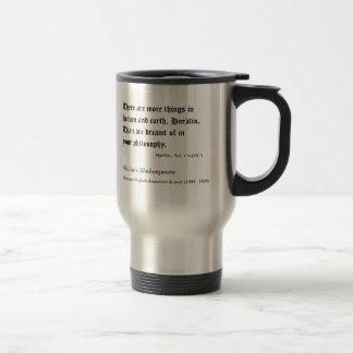 Shakespeare, hay más cosas en el cielo… tazas de café