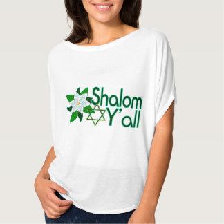 Shalom usted camiseta de la magnolia