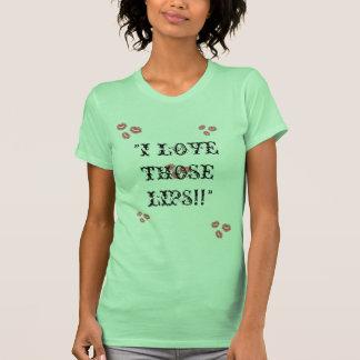 """Shard211989 """"esos labios """" camiseta"""
