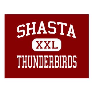 Shasta - Thunderbirds - centro - Eugene Oregon Postal