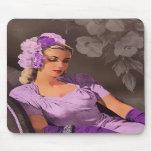 Sheila - los años 40 que igualan desgaste en lila  alfombrillas de raton