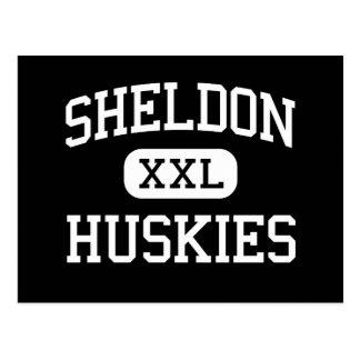 Sheldon - perros esquimales - alto - Sacramento Postal