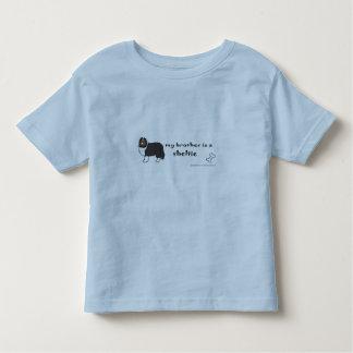 sheltie camiseta de bebé
