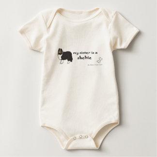 SheltieBlkSister Body Para Bebé