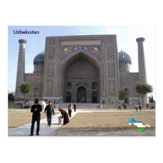 Sher-Dor Madrasah, Samarkand, Uzbekistán Postal