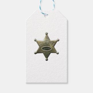 Sheriff Arizona Etiquetas Para Regalos