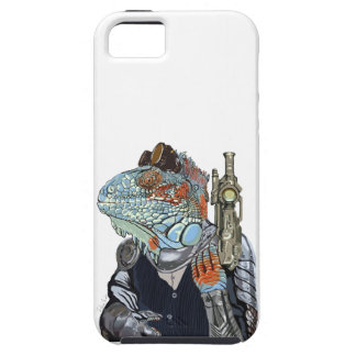 Sheriff del dragón del vapor funda para iPhone SE/5/5s