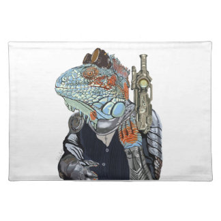 Sheriff del dragón del vapor salvamanteles