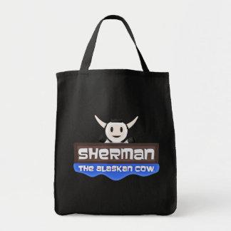 Sherman la bolsa de asas de Alaska de la vaca