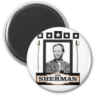 Sherman protagoniza las espadas imán