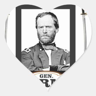 Sherman protagoniza las espadas pegatina en forma de corazón