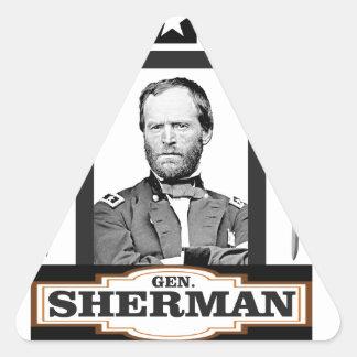 Sherman protagoniza las espadas pegatina triangular