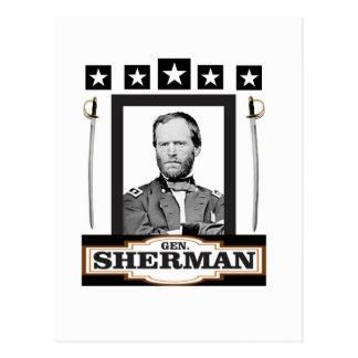 Sherman protagoniza las espadas postal