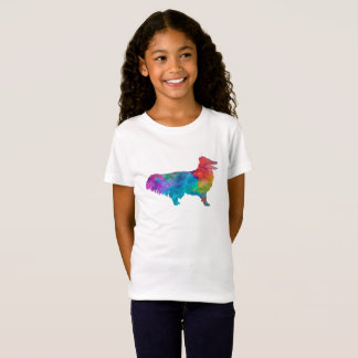 Shetland Seepdog in watercolor Camiseta