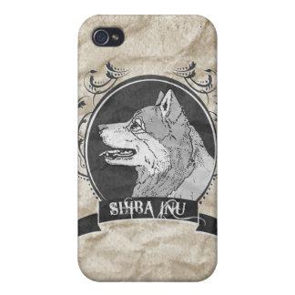 SHIBA INU 3 iPhone 4 CÁRCASAS