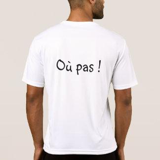 ¡Shirt cachondo para la práctica del tenis! Camiseta