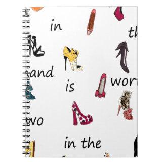 Shoes Cuaderno