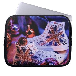 Shoes Merry Christmas_funda_10 Funda Para Portátil