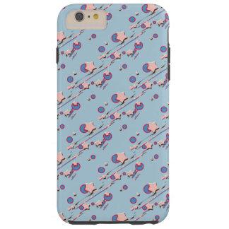 Shooting Stars y caja azul clara del teléfono Funda Resistente iPhone 6 Plus