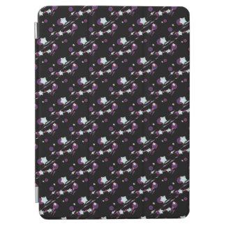 Shooting Stars y cubierta negra de la tableta de Cover De iPad Air