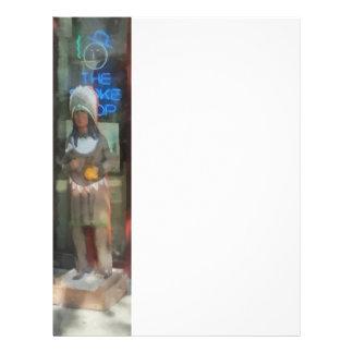 Shopfronts - tienda del humo folleto 21,6 x 28 cm
