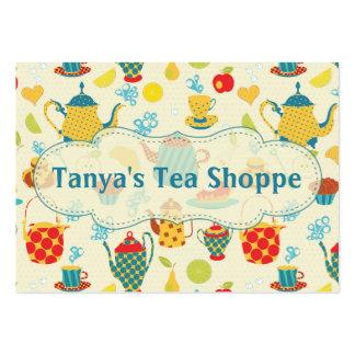 Shoppe del té tarjetas de negocios