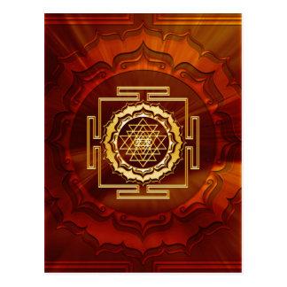 Shri Yantra - conductor cósmico de la energía Postal