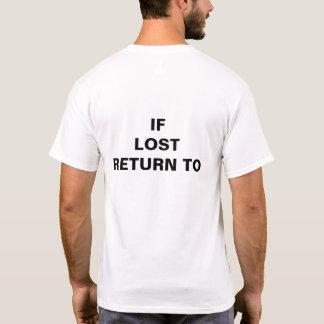 Si camiseta de vuelta perdida del to_ (complete el