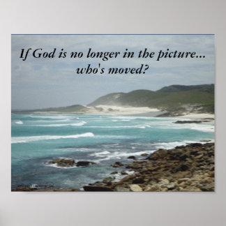 ¿Si dios está no más en la imagen… quién se ha Póster