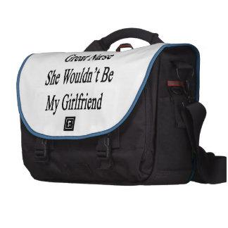 Si ella no fuera gran enfermera ella no sería mi bolsas para ordenador