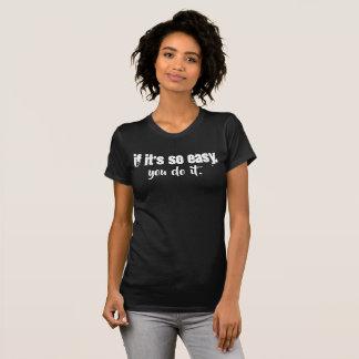 Si es camisa tan fácil