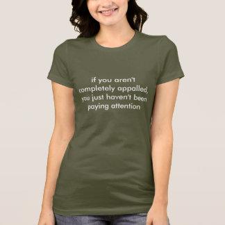 si le no atierran totalmente, usted apenas tiene… camiseta