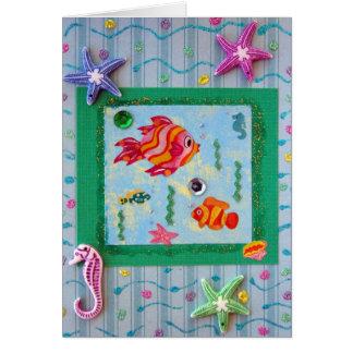Si los deseos eran pescados… tarjeta de felicitación