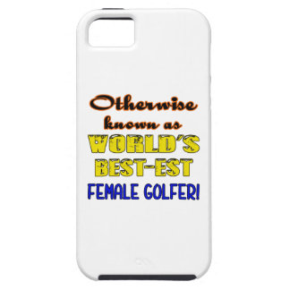 Si no conocido como golfista de sexo femenino más funda para iPhone SE/5/5s