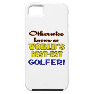 Si no conocido como golfista más bestest del mundo funda para iPhone SE/5/5s
