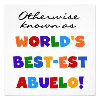 Si no conocido como Mejor-est Abuelo Comunicado Personalizado