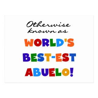 Si no conocido como Mejor-est Abuelo Tarjeta Postal