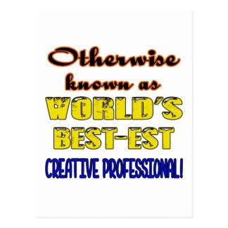 Si no conocido como profes creativos más bestest postal