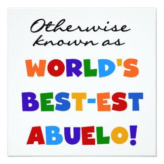 Si no conocido como regalos del Mejor-est Abuelo Comunicados Personales