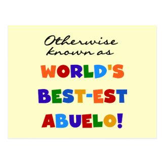 Si no conocido como regalos del Mejor-est Abuelo Tarjetas Postales