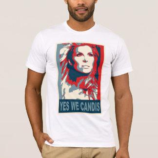 sí nosotros candis camiseta
