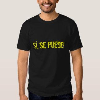 Sí, puede del SE Camisas
