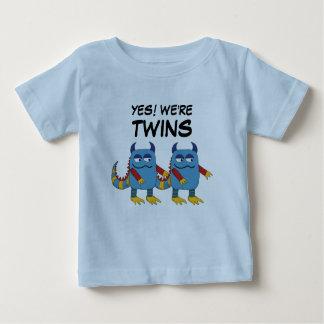 ¡Sí! Somos gemelos Camiseta