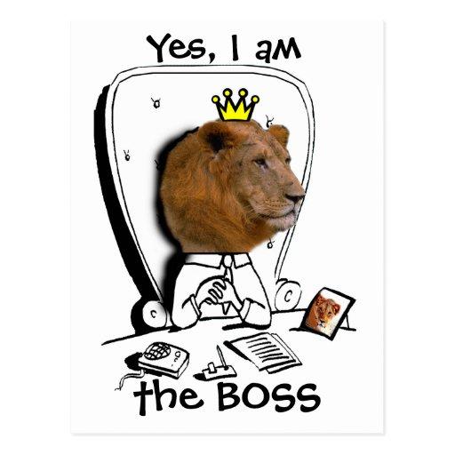 Sí, soy BOSS Postal
