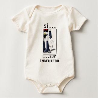 Sí, soy ingeniero body para bebé