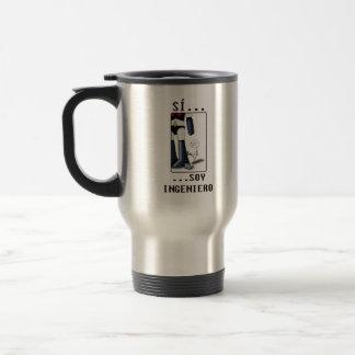 Sí, soy ingeniero tazas de café