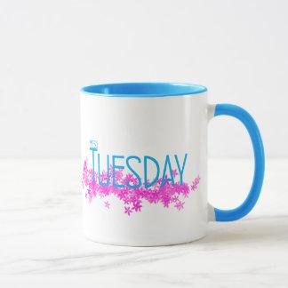 Sí taza combinada de martes