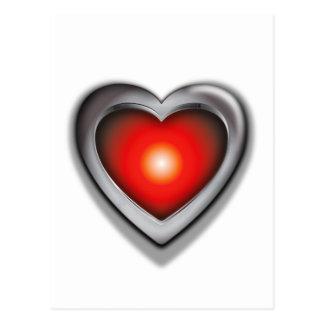 Si tenía solamente un corazón postal